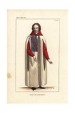 Jean De Bourbon, Lord of Rochefort, C1325-1375 Giclee Print by Leopold Massard