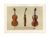 Violin Bought by Samuel Hellier in 1679 from Antonius Stradivarius Giclee Print by Alfred James Hipkins