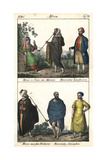 Costumes of Morocco: Moor, Berber and Moorish Nomads Giclee Print
