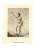 Indian Female of the Arrowauka (Arawak) Nation Giclee Print by John Gabriel Stedman