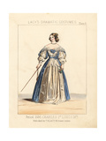 Costume of the Reign of King Charles I, England, Circa 1636 Giclee Print by Thomas Hailes Lacy