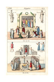 Festivals of Isis in Ancient Egypt Giclee Print
