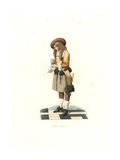 Dutch Gentleman, 17th Century Giclee Print by Edmond Lechevallier-Chevignard