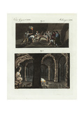 Caves in Mt St Peter, Maastricht Giclee Print