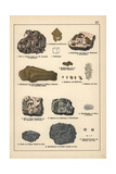 Precious Metals Including Gold, Platinum and Osmiridium Giclee Print