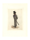 Costume of Tournesol, Police Agent in Henchman's Outfit Giclee Print by Auguste Etienne Guillaumot