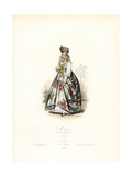 Mixed-Race Woman of Martinique, 1865 Giclee Print by Polydor Pauquet