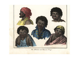 Australian Aborigines from the Blue Mountains Giclee Print