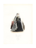 Mary Stuart, Queen of Scotland Giclee Print by Hippolyte Pauquet