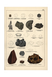 Metals Including Magnetic Iron Ore, Pyrite, Bloodstone, Etc Giclee Print