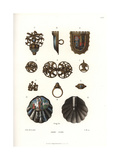 Jewelry from the End of the 15th and Early 16th Centuries Giclee Print by Jakob Heinrich Hefner-Alteneck