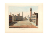 Piazza Del Campo, Siena, Italy, 14th Century Giclee Print by Paul Mercuri