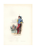 Venetian Gondolier, 1506 Giclee Print by Hippolyte Pauquet