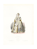 Queen Elizabeth I of England, Giclee Print by Polydor Pauquet