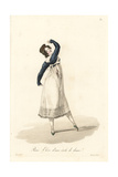 Female Dance Student, Paris, 19th Century Giclee Print by Louis-Marie Lante