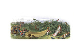 The Elf Prince Offers a Crown to a Fairy Giclee Print by Richard Doyle