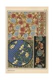 Nasturtium in Art Nouveau Patterns Giclee Print by Eugene Grasset
