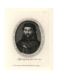 Blessed Henry Heath, Franciscan Martyr, Hanged in London in 1643 Giclee Print