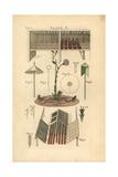 Gardening Tools and Equipment, Circa 1800 Giclee Print