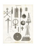Firework Manufacture or Pyrotechny, 18th Century Giclee Print by Wilson Lowry