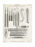 Surgical Equipment for Couching and the Extraction of a Cataract Giclee Print by J. Farey