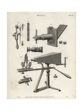 Optical Equipment of the 18th Century Giclee Print by J. Farey