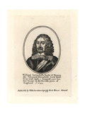 William Cavendish, Earl of Newcastle Giclee Print by Wenceslas Hollar