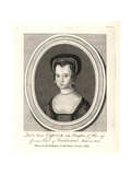 Lady Anne Clifford, Daughter of George Earl of Cumberland Giclee Print by R. White
