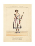 Miss Carlotta Leclercq as Perdita in a Winter's Tale Giclee Print by Thomas Hailes Lacy