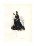 Spanish Woman, 17th Century Giclee Print by Polydor Pauquet