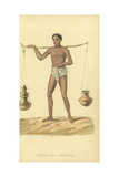 Doodhwala or Indian Milkman Giclee Print