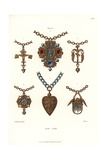 Women's Jewelry, Early 16th Century Giclee Print by Jakob Heinrich Hefner-Alteneck