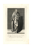 Matthew Paris, Historian Died 1259 Giclee Print by T. Cecill