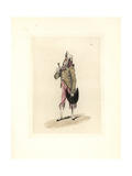 Costume of Desgouttieres, Secretary of the Directory Giclee Print by Auguste Etienne Guillaumot
