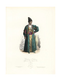 Khatchadour D'Hohannes, Officer of the Prince Royal of Persia Giclee Print by Hippolyte Pauquet