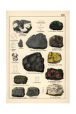 Metals Including Molybdenite, Arsenic, Orpiment, Etc Giclee Print