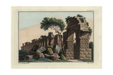 Ruins of a Roman Aquaduct Giclee Print by Robert von Spalart