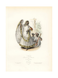 Nautch Dancing Girl of India, 1831 Giclee Print by Polydor Pauquet