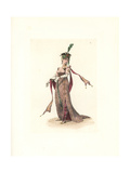 Costume of Madame De Contades, Merveilleuse Giclee Print by Auguste Etienne Guillaumot
