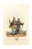 Belgic Briton and One of the Cassiterides from the Pre-Roman Era Giclee Print by Charles Hamilton Smith
