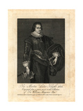 Sir Martin Lister Knight 1626 Giclee Print by R. White