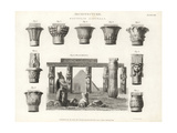 Egyptian Capitals Giclee Print by James Lewis
