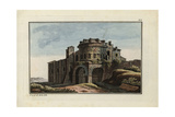 The Mausoleum of King Theoderic at Ravenna Giclee Print by Robert von Spalart