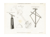 Equal Altitude Instruments and an Equatorial Sector Giclee Print by Wilson Lowry