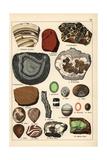 Precious Stones Including Agate, Onyx, Opal and Sardonyx Giclee Print