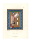 Illuminated Figure Giclee Print by Jakob Heinrich Hefner-Alteneck