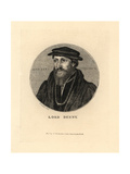 Lord Sir Anthony Denny, 1541 Giclee Print by Hans Holbein