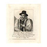 Sir Nicholas Mosly, Clothworker, Lord Mayor of London, 1599 Giclee Print