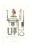 Archer with Two-Pulley Winch Crossbow Giclee Print by Jakob Heinrich Hefner-Alteneck