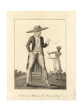 A Surinam Planter in His Morning Dress Giclee Print by John Gabriel Stedman